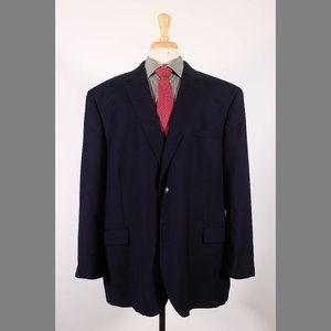 Jos. A. Bank 54R Navy Sport Coat G243
